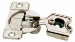 Brainerd Mfg Co/Liberty Hdw H1530SL-NP-U1 Cabinet Hinge, Soft-Close, 1/2-In. Partial Overlay, Nickel-Plated, 35mm, 10-Pk.