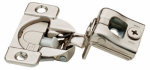 Brainerd Mfg Co/Liberty Hdw H1531SL-NP-U1 Cabinet Hinge, Soft-Close, 1-1/4-In. Partial Overlay, Nickel-Plated, 35mm, 10-Pk.