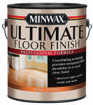 Minwax The 131020000 GAL CLR or Clear or Cleaner Water Based Semi Gloss Finish