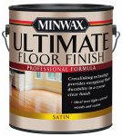 Minwax The 131030000 GAL CLR or Clear or Cleaner Water Based Satin Finish