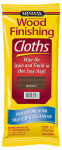 Minwax The 308230000 Wood Stain Cloths, Walnut, Covers 50-Sq. Ft.