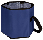 Picnic Time 596-00-138 Bongo Cooler, Insulated, Collapsible, Navy Blue