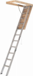 Louisville Ladder AA2210 Aluminum Attic Ladder, 22.5-In. x 54-In.