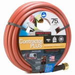 Teknor-Apex 989-75 Garden Hose, Farm & Ranch Duty, 450 PSI, Dark Red, 3/4-In. x 75-Ft.