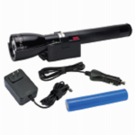 Mag Instrument RL1019 MagCharger LED Rechargeable Flashlight System, Black, 12-Volt