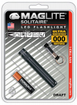 Mag Instrument SJ3A016 BLK AAA LED Flashlight