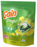 Procter & Gamble 86750 Flings Detergent Plus Oxi Boost, Original Scent, 16-Ct.