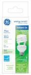 G E Lighting 74200 20-Watt Mini Twist CFL Bulb