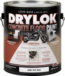 United Gilsonite Lab 21713 Concrete Floor Paint, Dark Tint Base, Gallon, Must Be Purchased in Quantities of 2