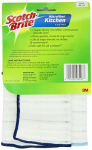 3M 9032-2 Kitchen Cloths, Microfiber, 2-Pk.