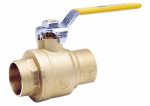 "Watts Brass & Tubular 1/2 LFFBVS-3C 1/2"" Brass Ball Valve"