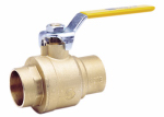 "Watts Brass & Tubular 3/4 LFFBVS-3C 3/4"" Lead Free Brass Full Port Ball Valve"