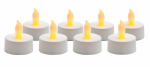 Sterno Home CG10026WH8 Flameless Tea Light Candle, 8-Pk.