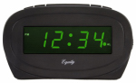 La Crosse Technology 30226 Alarm Clock, 0.6-In. Green LED Display