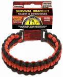 Wellington Cordage NPCB550BKRM MED RED/BLK Bracelet