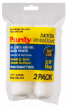 Purdy 140624012 Jumbo Mini Roller Cover, White Dove, 4-1/2 x 3/8-In., 2-Pk.