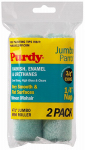 Purdy 140624040 Jumbo Mini Roller Cover, Parrot, 4-1/2 x 1/4-In., 2-Pk.