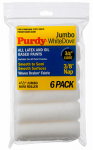 Purdy 140624612 Jumbo Mini Roller Cover, White Dove, 4-1/2 x 3/8-In., 6-Pk.