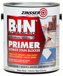 Zinsser & 270976 B.I.N. Advanced Stain Blocker Primer, Bright White, 1-Gal.
