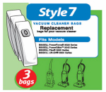 Bissell Homecare International 32120 Vacuum Bags, Style 7, 3-Pk.