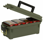 Plano Molding 1212-02 Shot Shell Ammunition Box, Holds 4, Green