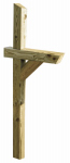 Universal Forest Products 106053 Mailbox Post, Pressure-Treated Wood, 4 x 4 x 72-In.