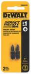 Dewalt Accessories DWA1PH1IR2 2PK Imp #1 Phillip Bit