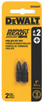 Dewalt Accessories DWA1PH2IR2 2PK Imp#2 Phil Bit Tip