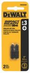 Dewalt Accessories DWA1PH3IR2 2PK Imp #3 Phil Bit Tip