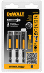 Dewalt Accessories DWA2240IR Cleanable Nut Setter, 3-Pk.