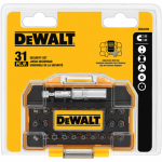 Dewalt Accessories DWAX200 Standard Security Driving Bit Set, 1-In., 31-Piece