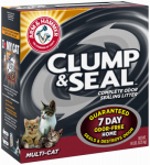 Church & Dwight 02143 Cat Litter, Multi-Cat Clump & Seal, 14-Lbs.