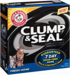 Church & Dwight 02142 Cat Litter, Fresh Home Clump & Seal, 14-Lbs.