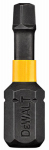Dewalt Accessories DWA1SQ2IR10 #2 Square Impact-Ready Bit Tip, 1-In., 10-Pk.