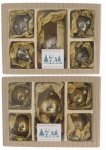 Christmas By Krebs TV410038A 5PK Merc Ball Ornaments