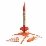 Estes Cox 1478 Model Rocket Launch Set, Flash, 16.2-In.