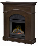 Dimplex North America DFP20L-1334MA Bronte Mantel Fireplace, Mocha Finish, 1400-Watt