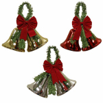 Impact Innovation-Import 3940NP12 Christmas Bell Decoration, Assorted, 13 x 13-In.