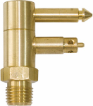 Unified Marine 50052220 Mercury Male Fuel Connector, Brass, 1/4-In. NPT