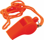 Unified Marine 50074032 Safety Whistle, Orange Plastic