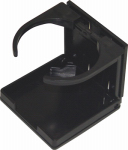 Unified Marine 50091015 Marine Drink Holder, Black Nylon