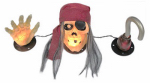 Noma/Inliten-Import V37097-88 Halloween Pirate Pete Light Set, 20-Ct.