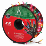 Noma/Inliten-Import 48351-88 Christmas Light Set, Mini, Multi, 450-Ct.