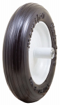 Marathon Industries 3 13'' Ribbed Flat Free Tire