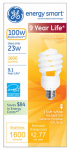 G E Lighting 42111 23-Watt Mini Twist CFL Bulb