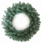 "Equinox 2 CAN-406-24 HW24"" Un-Lit Art Wreath"