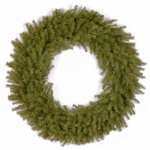 National Tree Co-Import NF7-10-48W Artificial Christmas Wreath, Norwood Fir, 48-In.