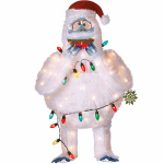 Product Works 60573 Christmas Decoration, 3-D Lighted Rudolph's Bumble, 36-In.