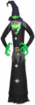 Gemmy Industries 53906 Halloween Lawn Decoration, Self-Inflating, Wicked Witch, 12-Ft.