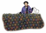 Noma/Inliten-Import 47894-88 Christmas LED Net Light, Micro, Multi, 4 x 6-Ft.